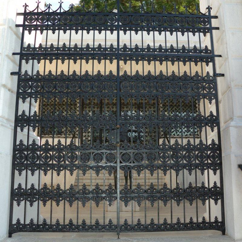 cancello fondazione Guggenheim